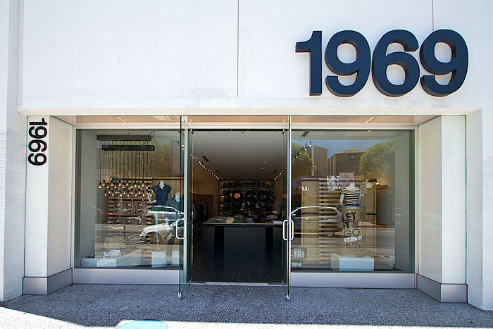 Hotels In Seattle >> 1969 - GAP Concept Store | Robertson Boulevard Shopping ...