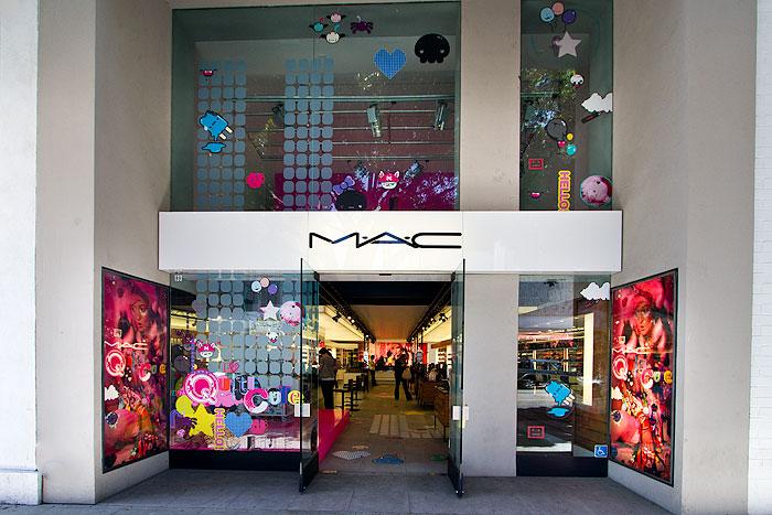 Mac Cosmetics Robertson Boulevard Shopping Dining