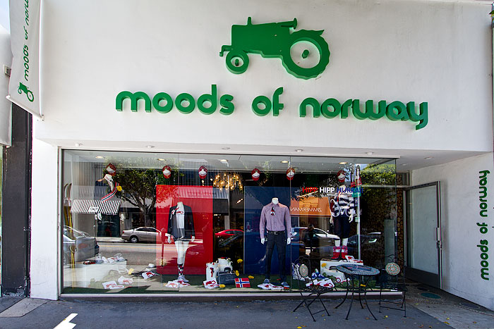 Moods Of Norway Robertson Boulevard Shopping Dining