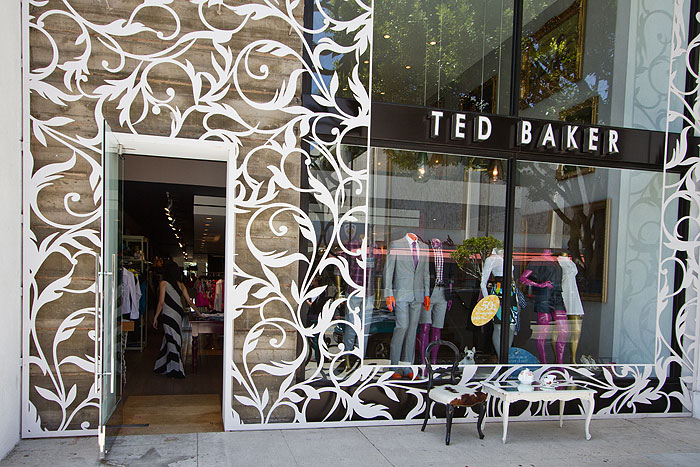 Ted Baker Robertson Boulevard Shopping Dining Travel